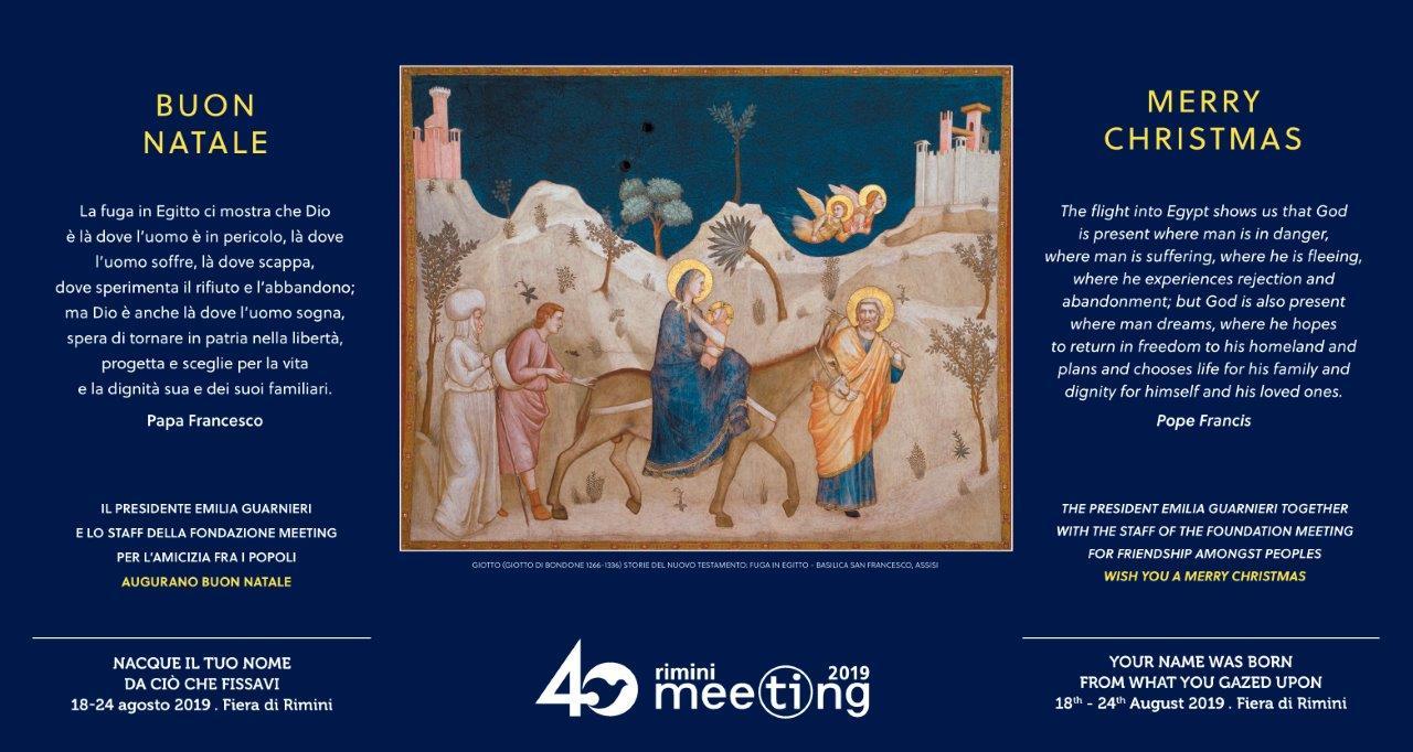 Frasi Di Natale Di San Francesco.Gli Auguri Di Natale Del Meeting Meeting Di Rimini